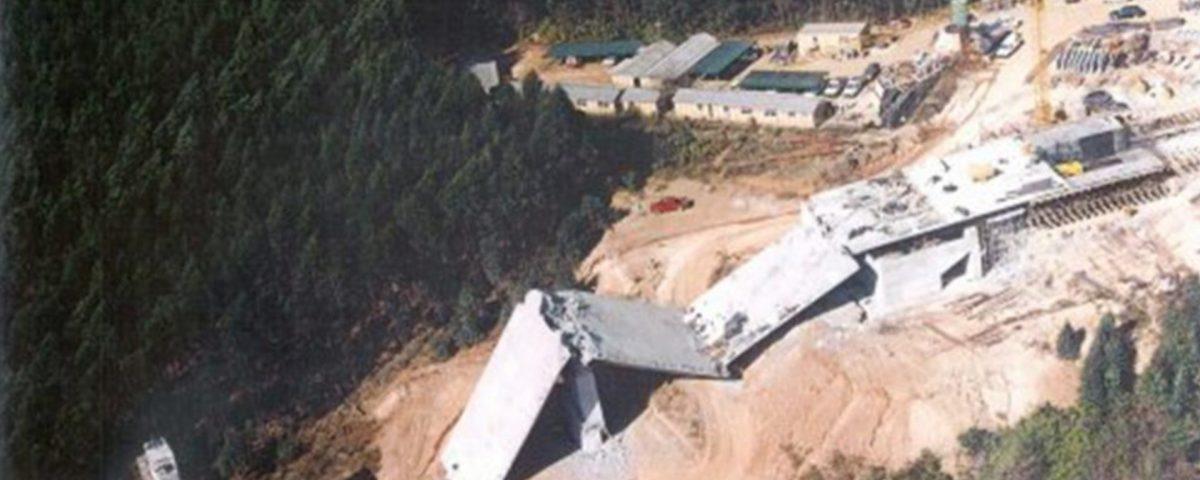 Injaka Bridge; Collapse